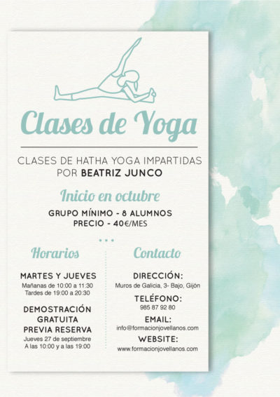 Clases de Yoga en Gijón